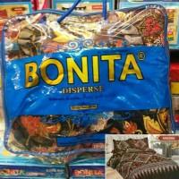 PROMO SET BADCOVER BONITA 3D DESIGN NYAMAN DAN TIDAK LUNTURS
