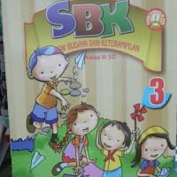 buku kelas 3 sd SBK seni budaya dan keterampilan kls 3SD