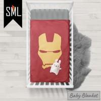 Selimut Bayi / Baby Blanket / Baby Bedsheet / Badcover - Iroman 004