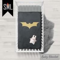 Selimut Bayi / Baby Blanket / Baby Bedsheet / Badcover - Batman 003