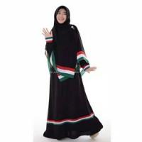 Baju Gamis Wanita Alya ❤❤Set Palestina Mxxl❤ Muslimah