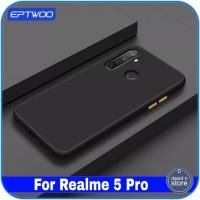 Casing Realme 5 Pro Hard Soft Case Bumper Ultra Thin Slim Back Cover