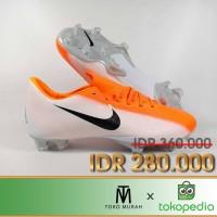 Sepatu Bola Nike Vapor XII Pro Orange White FG Replika Impor