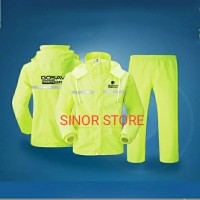 Jas Hujan RAINGARD HIJAU Industrial Safety Raincoat Baju Celana Motor - XXL