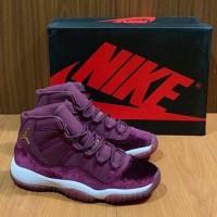 Sepatu Nike Air Jordan 11 Retro Red Velvet