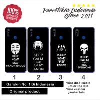 Garskin skin Samsung A10 A20 A30 A50 A60 A70 A80 keep calm back case