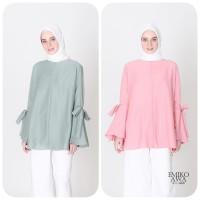 Blouse Wanita Korea Pearl - Emikoawa Baju Atasan Wanita Busui Premium