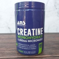 ANS CREATINE MICRONIZED MONOHYDRATE 300 GR / 60 SERVINGS READY STOCK !