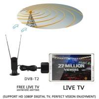 TERLARIS Android TV Tuner DVB-T2 Digital Antena TV Receiver For