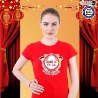 Dijual Baju Kaos Warna Dewasa Pria/Wanita/Unisex Design Imlek Umum -