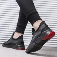 Techdoo Sepatu Pria Santai Fashion Running Shoes Sport Casual Olahraga