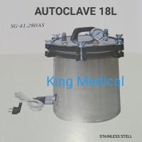 Autoclave Sterilisator Basah Autoklaf Dandang SG-41 280AS