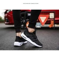 Techdoo Sepatu Olahraga Running Shoes Bantalan Udara Sepatu Lari Pria