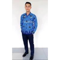Kemeja Seragam batik korpri pria / kemeja panjang korpri / baju batik