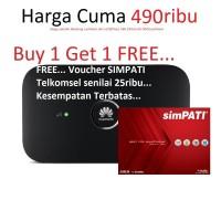 Mifi Modem Wifi Router 4G UNLOCK Huawei 5573 FREE Telkomsel Kuota 1