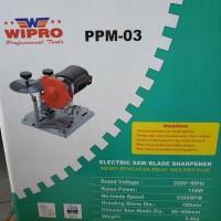 Wipro Saw blade sharpener mesin asah pisau gergaji 90 - 400 mm