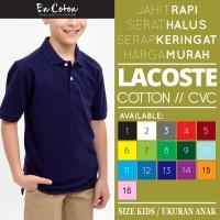 Kaos Kerah PREMIUM ANAK / Polo Shirt Kids Bahan Katun (Nyaman Dipakai)