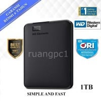 WD Elements 1TB 25 inch hardisk eksternal