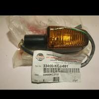lampu sein Honda Tiger smoke hitam