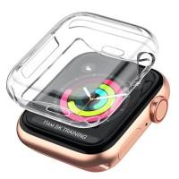 Full TPU Case Apple Watch 44mm - Original Clear Soft Bening Cover Ori