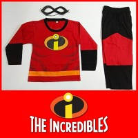 Baju Kostum Anak Karakter Superhero Incredibles