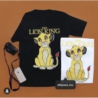 Tumblr Tee / T-Shirt / Kaos Wanita Lengan Pendek LION KING