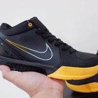 Sepatu Basket nike Kobe 4 Protro Low FTB Black Snake