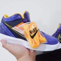 Sepatu Basket nike Kobe 4 Protro Low Undefeated Lakers