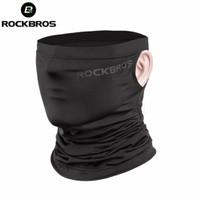 Masker Bandana Rockbros Model Lobang Telinga - Hitam