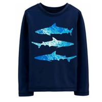 Baju Renang Anak Laki-laki Rashguard Oshkosh Shark