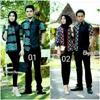 batik couple blouse batik seragam kantor baju pria wanita baru cauple