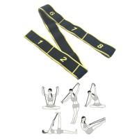 Yoga Elastic Band (Kuning)/Resistance Band/Yoga Band/olahraga/Senam