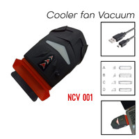 grosir cooling pad vacuum / cooler fan vacuum / kipas laptop hisap ORI
