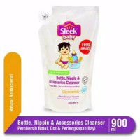 Sleek Cuci botol Bottle Nipple And Baby Accessories Cleanser 900 ml