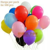 balon doff per pack / balon doff 12 inch / balon polos 100 pcs
