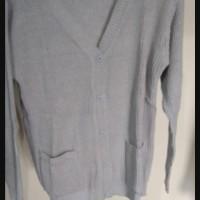 sweater rajut / baju hangat /atasan lengan panjang wanita ROW 010 - Abu-abu