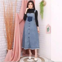 Baju EMMA OVERALL GF Be/Overall Jeans/Jeans overal Wanita Murah Banget