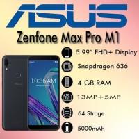 Asus zanfone max pro M1 ram 4 gb/64gb zb602kl garansi resmi Asus tam-a