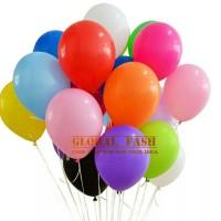 balon doff 12 inc / balon latex doff / balon karet polos warna warni