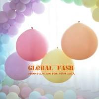 Balon latex jumbo pastel / balon jumbo strong / balon besar murah