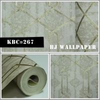 Wallpaper Dinding Murah Bahan Vinyl KBC-267