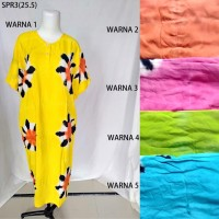 Grosir Daster Baju Tidur Jumbo Super Batik Pekalongan Kodian 3