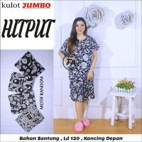 Baju Tidur Jumbo / Setelan Kulot Jumbo / Baju Menyusui Jumbi