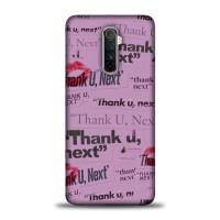 Hardcase Realme X2 Pro Thank You Next Ariana Grande L2723