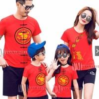 Kaos kembaran imlek chinese new year - Baju Imlek Keluarga