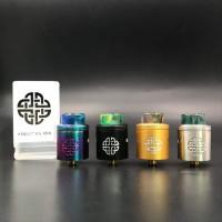 Hellvape Aequitas BF RDA 24mm Premium Quality Clone Bagus Vape Vapor