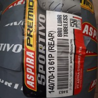 Aspira Premio Sportivo uk. 140 . 70 - 13 R. Ban belakang Yamaha NMa