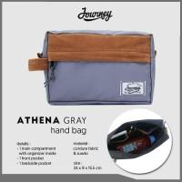 Clutch Pria Athena Journey Handbag HP Gadget Vape Organizer Tas Distro