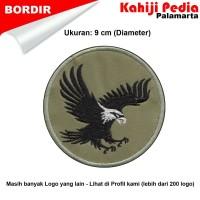 Elang bordir patch emblem bordir badge eagle