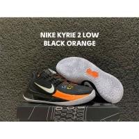 Sepatu Basket Nike Kyrie 2 Low Black Orange